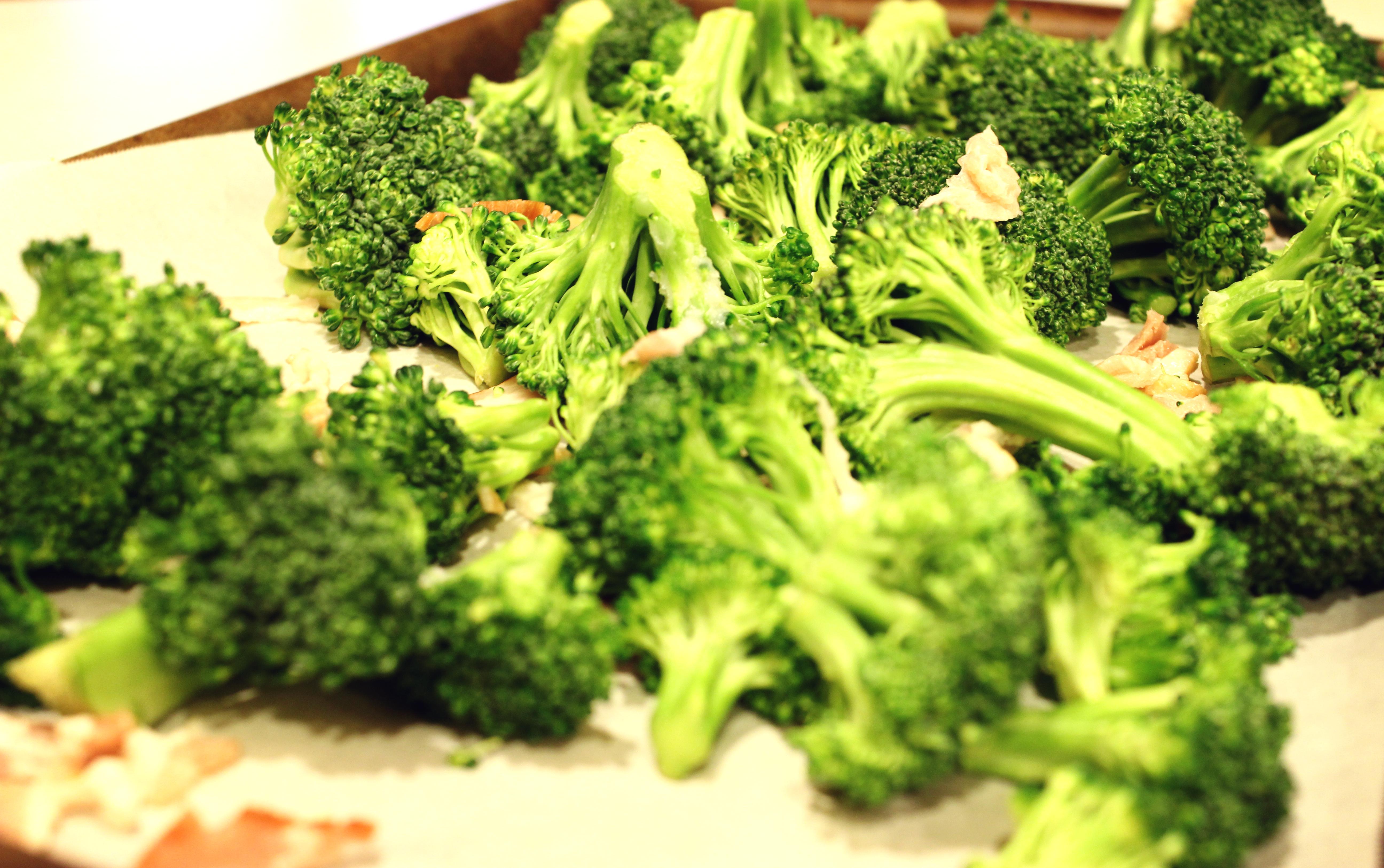 Bacon Roasted Broccoli | PamperedPaleo