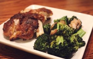 Bacon Roasted Broccoli