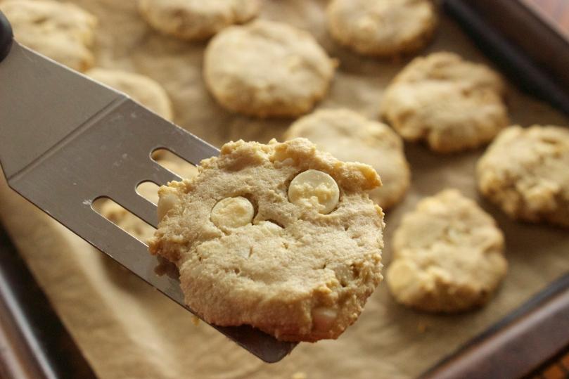 White Chocolate Chip Macadamia Nut Cookies by PamperedPaleo