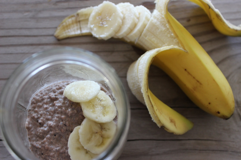 Cocoa Banana Chia Pudding by PamperedPaleo