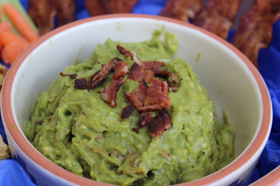 Bacon Plantain Guacamole by PamperedPaleo