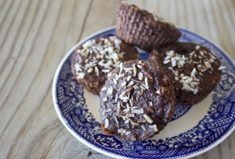 Chocolate Coconut Banana Muffins by PamperedPaleo