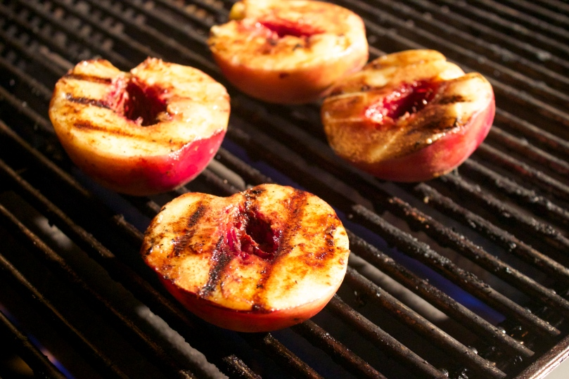 Grilled Peaches by PamperedPaleo