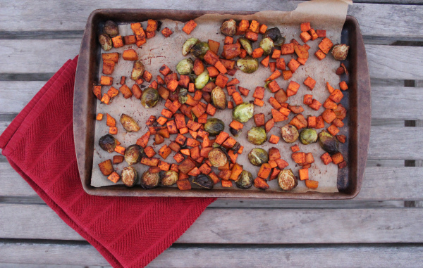 Sweet & Spicy Roasted Vegetables