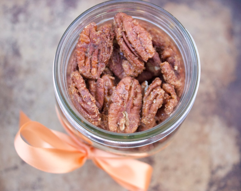 Candied Pecans by PamperedPaleo